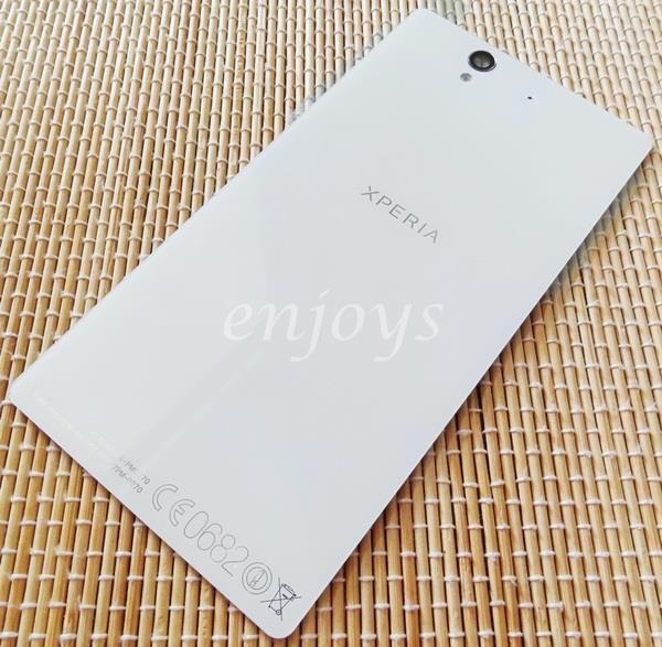 Enjoys: NEW HOUSING Battery Door Back Cover Sony Xperia Z C6603 ~WHITE