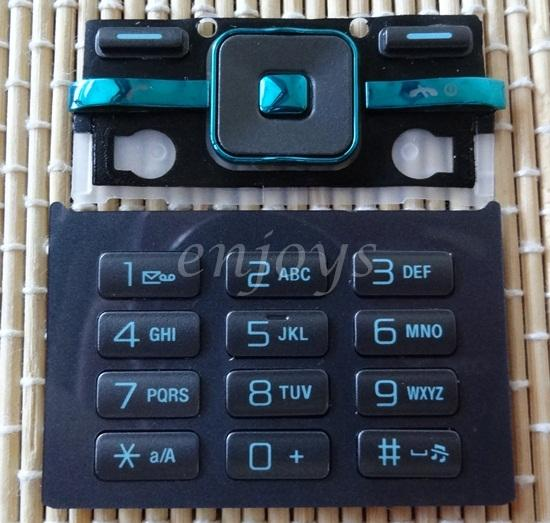 Enjoys: Keyboard Keypad Part Sony Ericsson T715 ~BLACK @Press like ORI