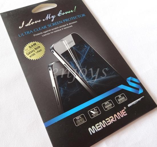 Enjoys MEMBRANE Ultra Clear Screen Protector Samsung Galaxy Note i9220