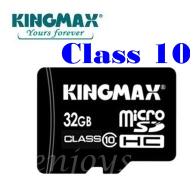Enjoys: Real KINGMAX 32GB Micro SD SDHC Memory Card ~Class 10