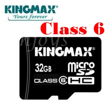 Enjoys: Real KINGMAX 32GB Micro SD SDHC Memory Card ~Class 6
