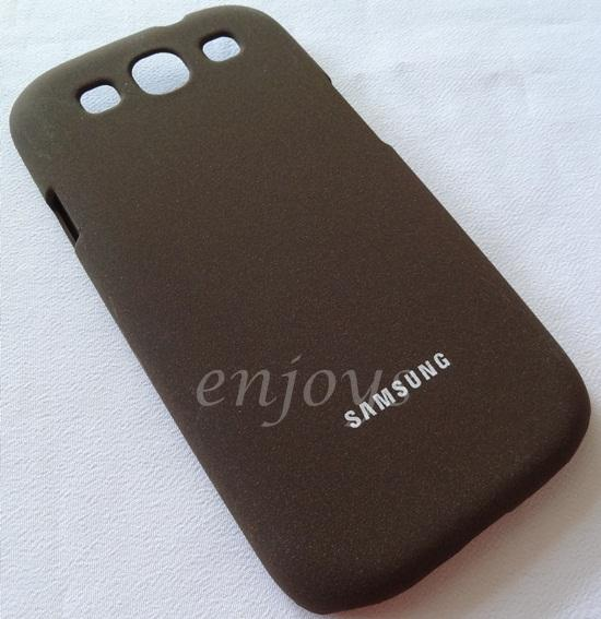 Enjoys: SGP Linear Hard Case Cover Samsung I9300 Galaxy S 3 III ~Brown