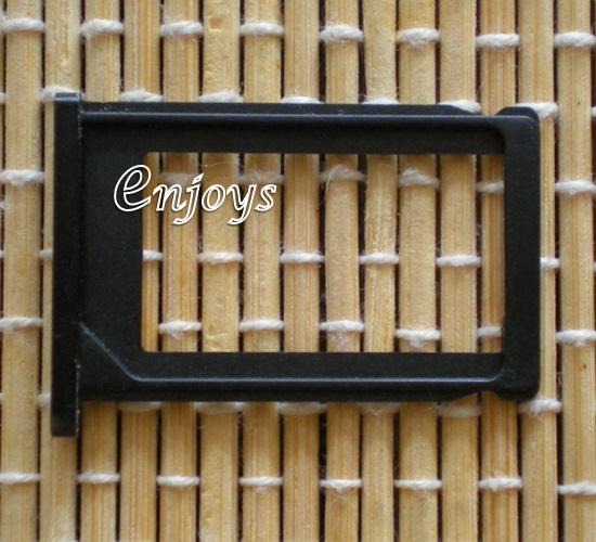 Enjoys: SIM Tray Holder for Apple iPhone 3G 3GS ~Card Slot ~BLACK