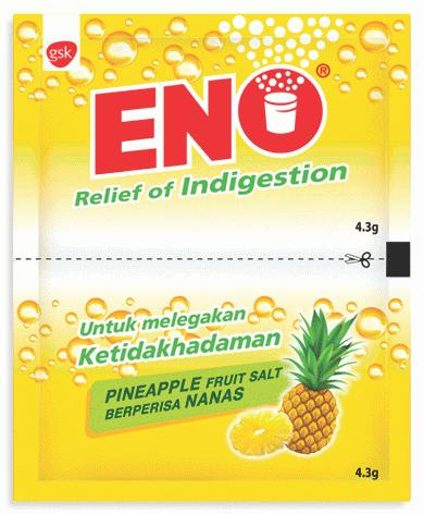 Eno Pineapple Sachets  ( for Digestion) 10s