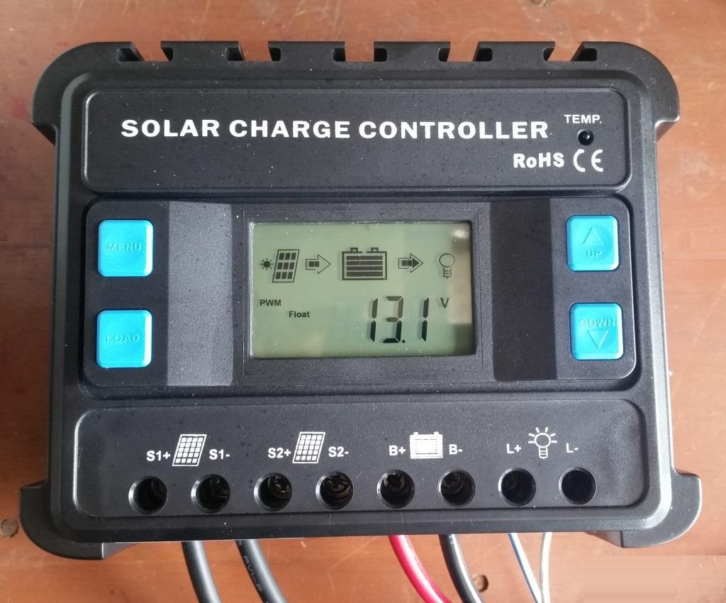 ENS12/24-30D Solar Charge Controller 30A with LCD Display