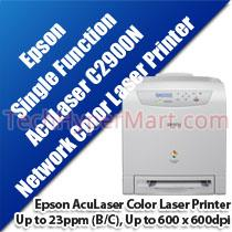 EPSON ACULASER C2900N COLOR LASER PRINTER