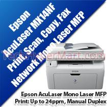 EPSON ACULASER MX14NF MONO LASER MULTIFUNCTION PRINTER