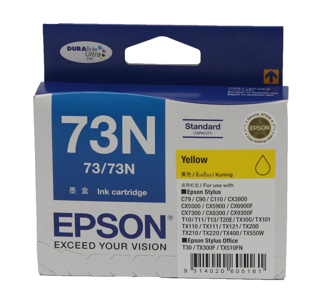 Epson� C13T105490 73N Yellow Ink Cartridge