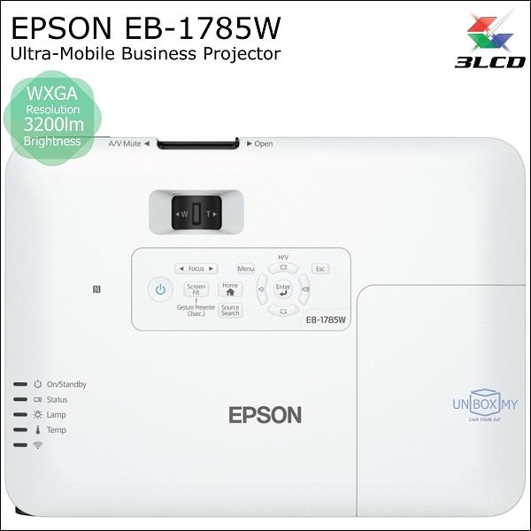 products projectors ultra mobile epson eb w