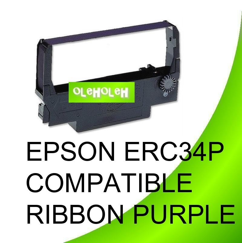 EPSON ERC34P Compatible Ribbon Purple