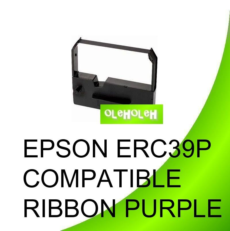 EPSON ERC39P Compatible Ribbon Purple