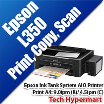 EPSON L350 INK TANK SYSTEM AIO PRINTER