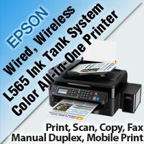EPSON L565 INK TANK SYSTEM COLOR ALL-IN-ONE PRINTER