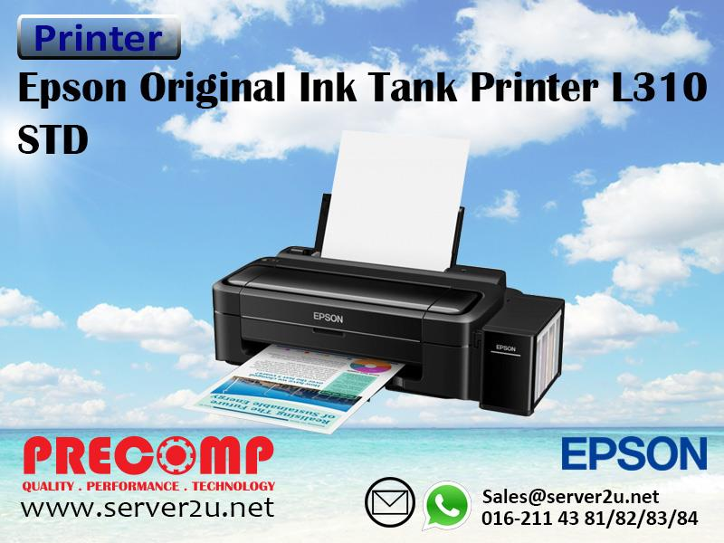 Epson Original Ink Tank Printer L310 STD (C11CE57501)