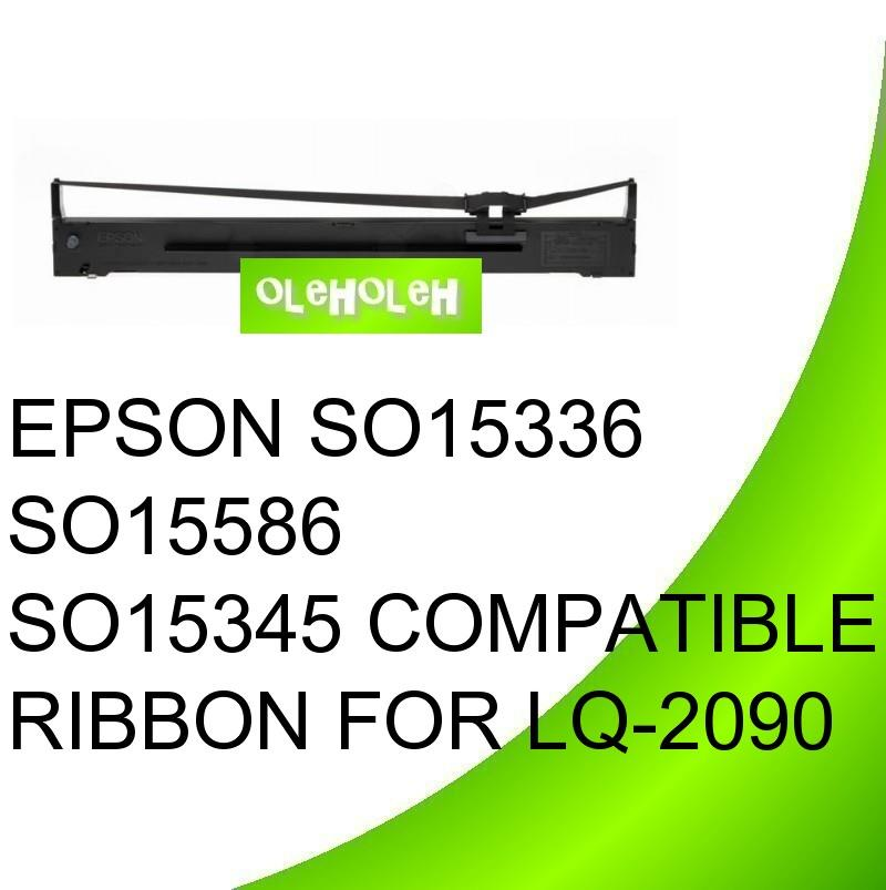 EPSON SO15336 SO15586 SO15345 Compatible Ribbon For LQ-2090