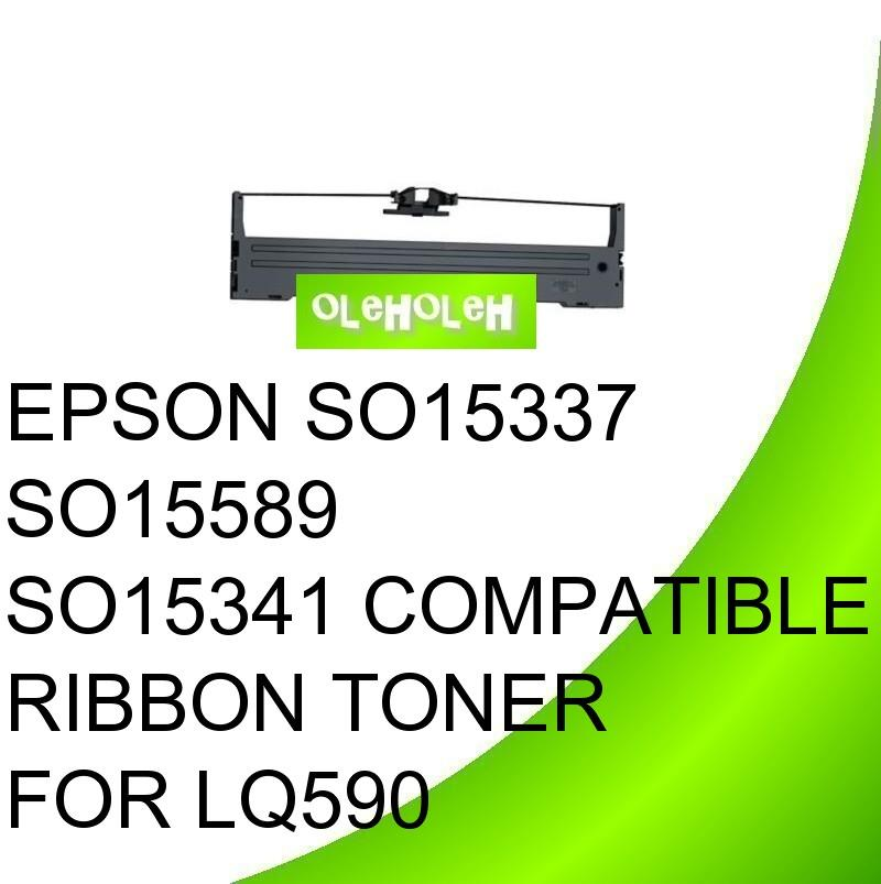 EPSON SO15337 SO15589 SO15341 Compatible Ribbon For LQ590