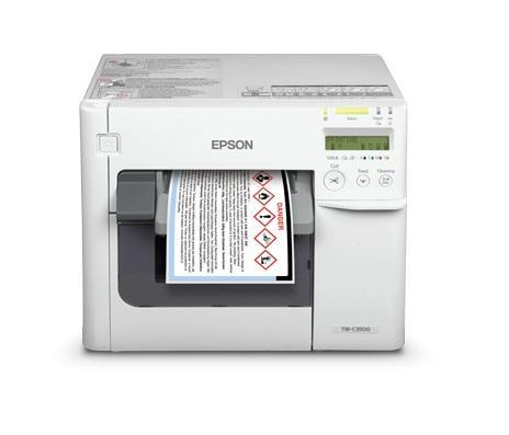 Epson TM-C3510 Color Label & Barcode Printer