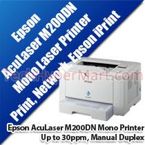EPSON WORKFORCE AL-M200DN MONO LASER PRINTER