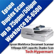 EPSON WORKFORCE DS-6500 COLOR DOCUMENT SCANNER