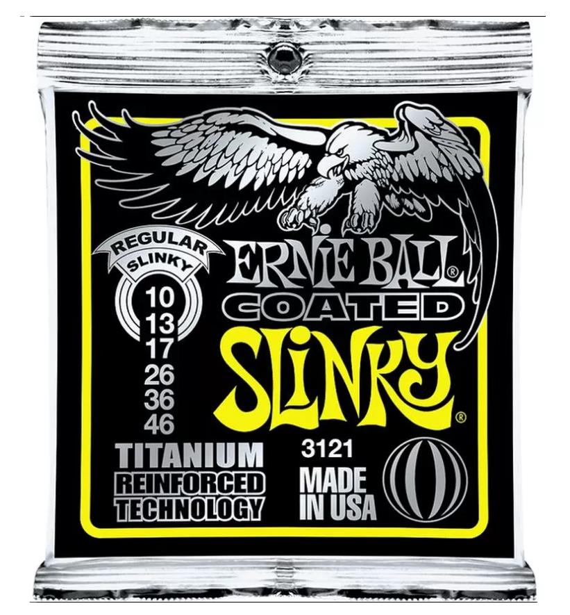 Ernie Ball 10-46 Regular Slinky 3121 Electric Guitar Strings