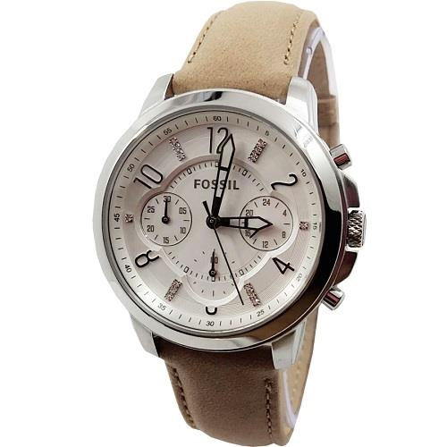 ES4038 Gwynn Chronograph Leather Ladies Watch