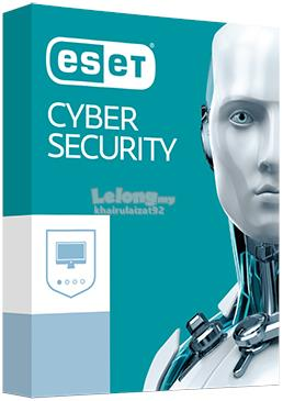 ESET Cyber Security 1 Year 1/2/3/4 PC (Official ESET Malaysia Agent)