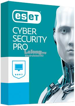 ESET Cyber Security Pro 1 Year 1/2/3/4 PC (Official ESET Malaysia RS)