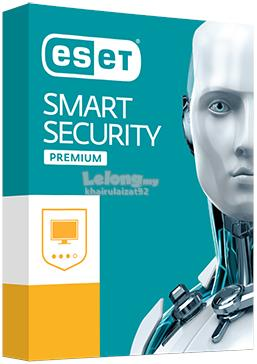 ESET Smart Security Premium 10 1 Year 1/2/3/4 PC (Official ESET MY RS)