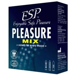ESP (Enjoyable Safe Pleasure) Condom - Pleasure Mix 3's