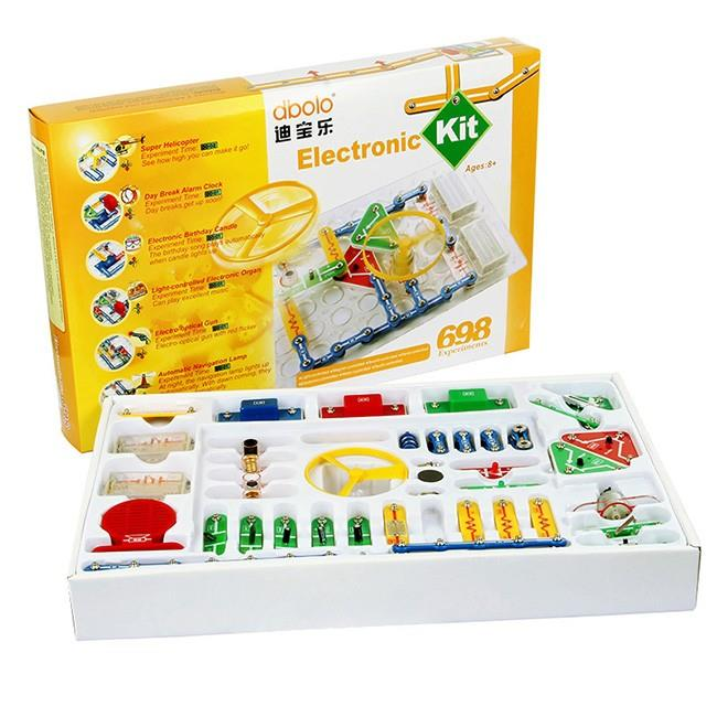 Essential Electronic Learning Kit, 698 Experiments,Dbolo