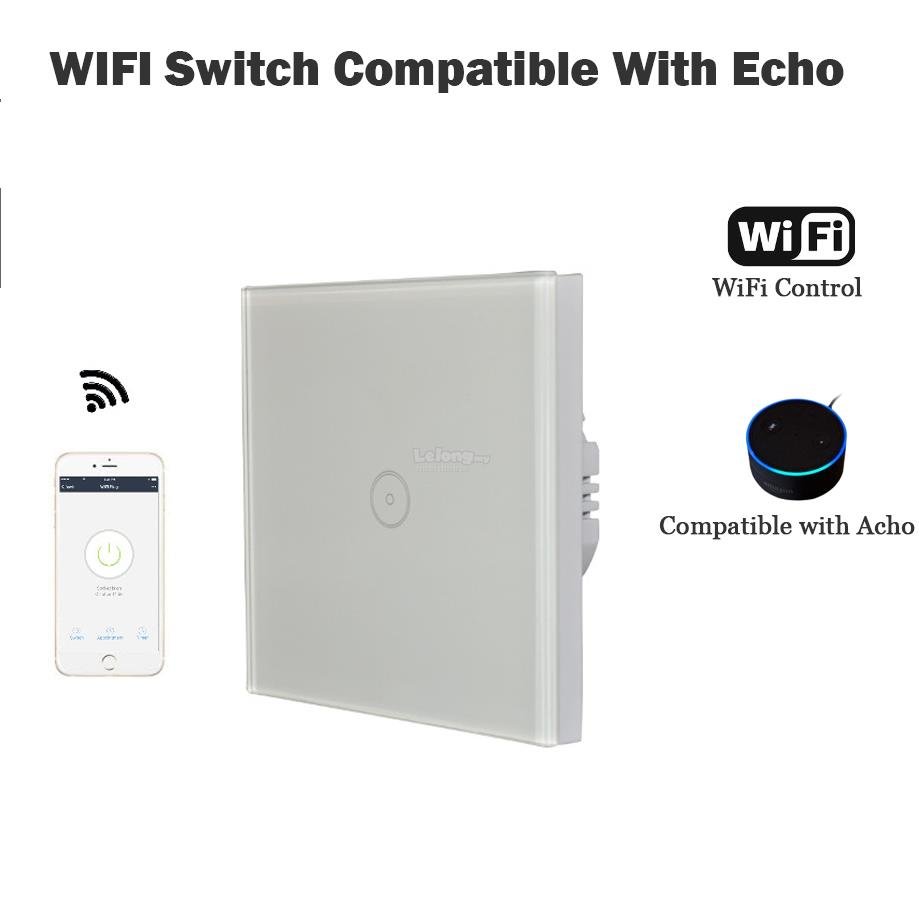 EU Remote control Timer 2.4G Wifi Power plug outlet compatible Echo