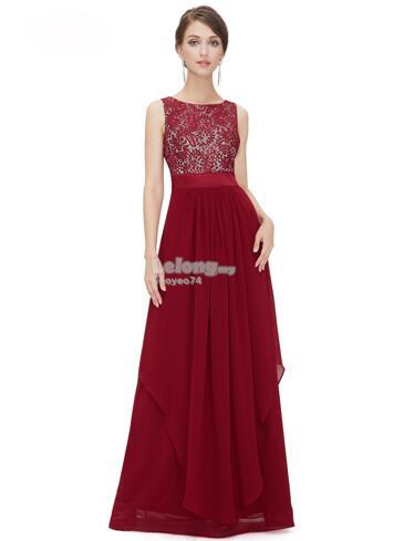 European Style Lace Dinner Dress