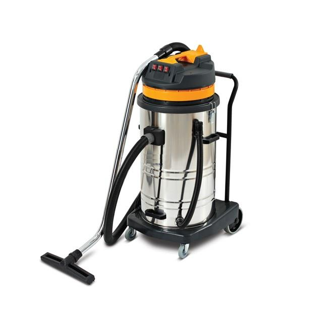 EuroPower 3000W 80Liter Industrial Vacuum Cleaner