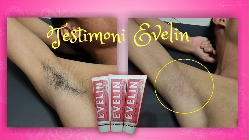 EVELIN HAIR REMOVAL CREAM ~Krim Penanggal Bulu ~