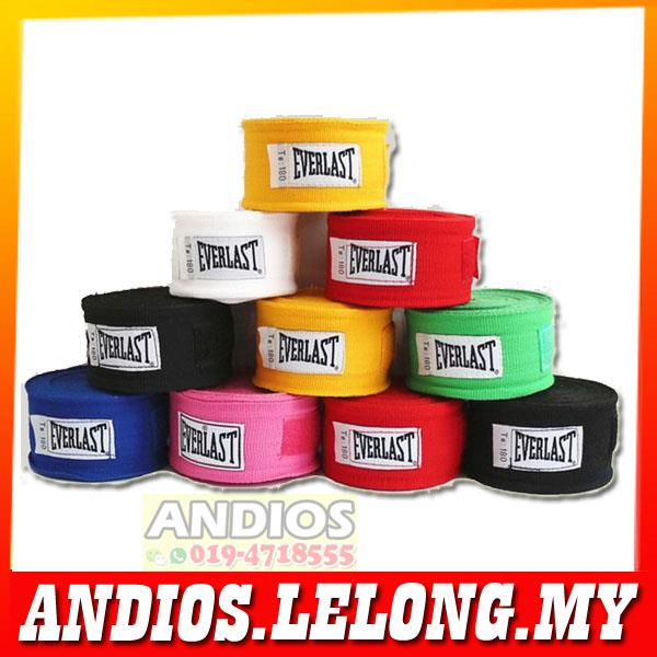 Everlast Hand Wrist Wrap Boxing Muay Thai Glove Rope String 5-meter