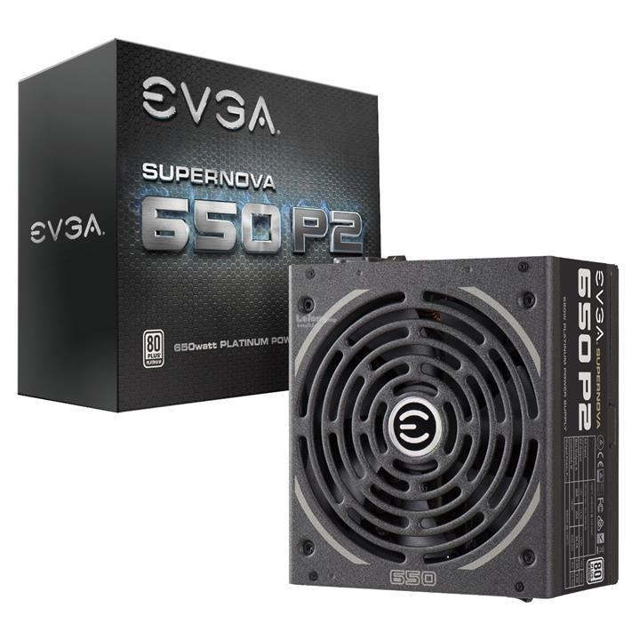 EVGA SUPERNOVA 650 P2 PLATINUM FULL MODULAR POWER SUPPLY