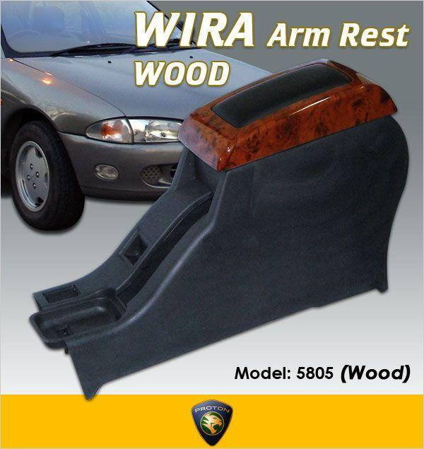 EVO III High Quality Solid Wood Arm Rest: WIRA/SATRIA/PUTRA [5805W]