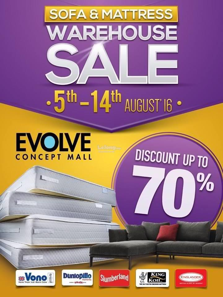 Evolve concept mall sofa mattress end 8 14 2016 11 15 pm for Furniture w sale warehouse