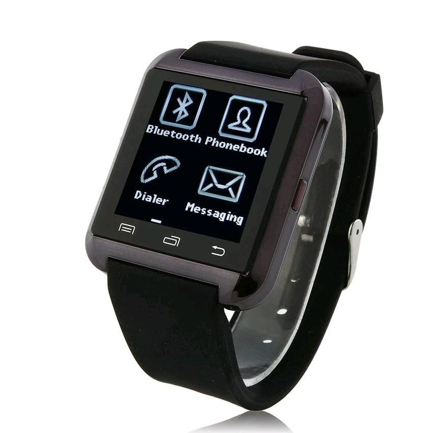 "Ewing E8 1.44"" Bluetooth Touch Screen Smart Watch (Black)"