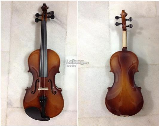 New Excellent Violin with Free Hardcase, Bow & Rosin