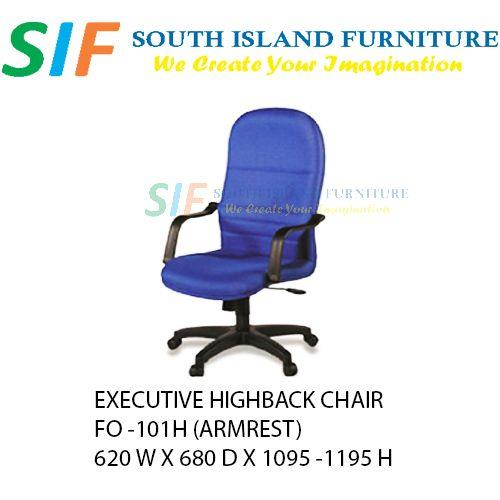 Executive Office Chair Highback (come with armrest) FO-101H