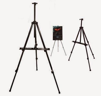 Exhibition Sketching Iron Easel ,Tripod Stand for LED writing message