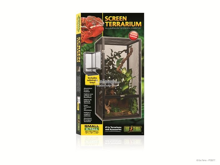 Exo Terra Screen Terrarium - Small/Tall