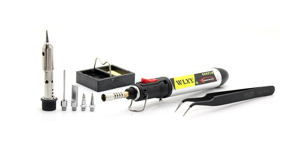 Exquisite 8-in-1 Butane Soldering Iron Torch Pen
