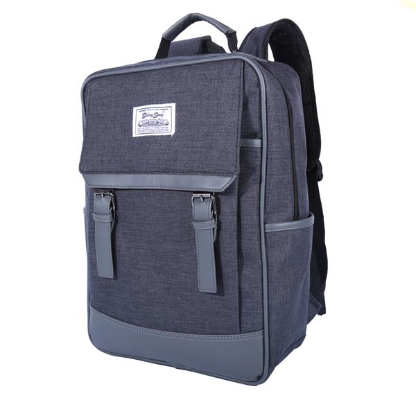 Exteam Canvas Backpack Laptop Briefcase School Bag Travel Backpack