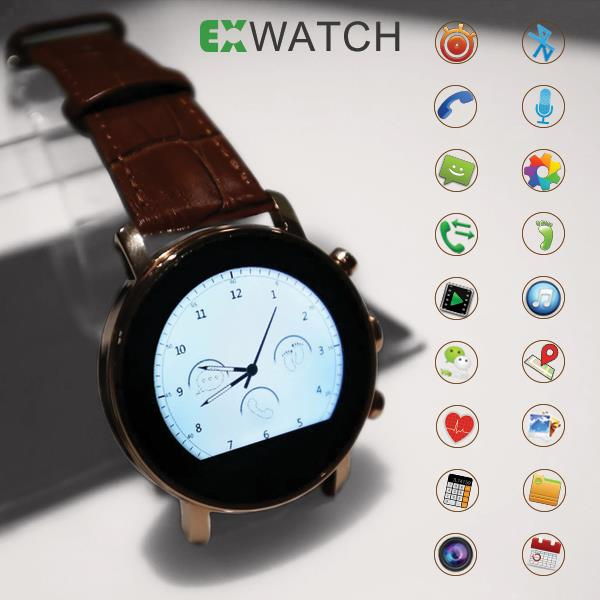 ExWatch R5 Bluetooth Smart watch Phone With Camera & Sim Slot