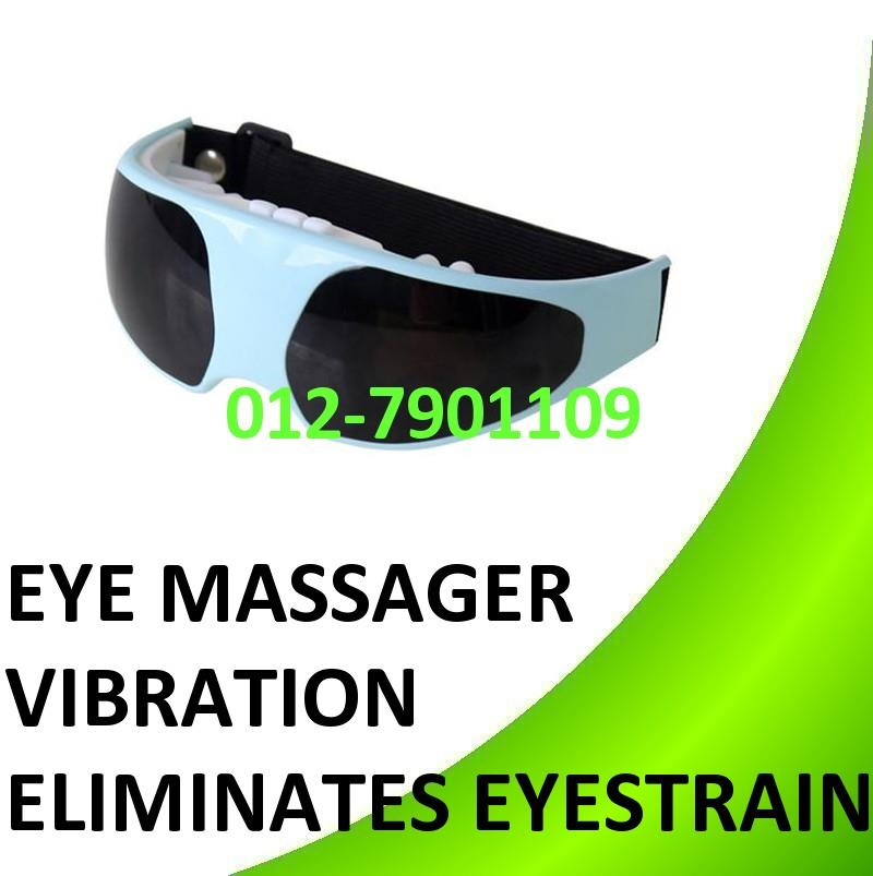 Eye Care Massage Vibration Relax Relief Massager Eliminates Eyestrain