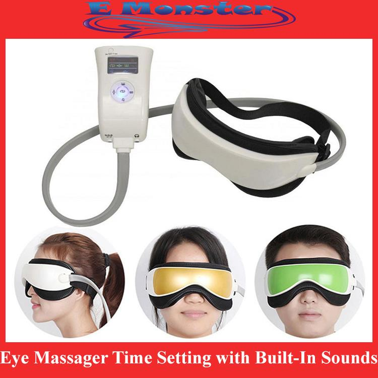 Eye Massager Infrared Heating Vibration Air Pressure Device Time Music