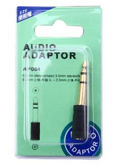 EZE AP064 3.5mm to 6.5mm Audio Adapter