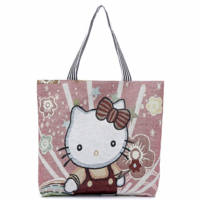 F06-Hello Kitty  Handbag, Backpack, Laptop Notebook iPhone Tablet Beg